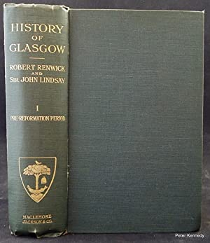 History of Glasgow volume 1 Pre-Reformation Period