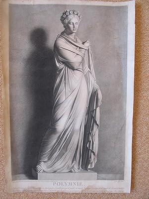 POLYMNIE: G. Reverdin, Stich von Louis Charles Ruotte