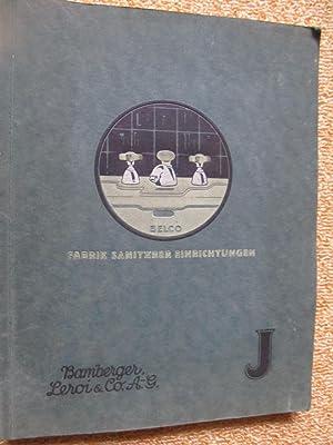 Belco, Fabrik sanitärer Einrichtungen- Das Buch der sanitären Apparate: Leroi & Co. AG