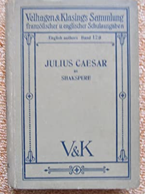 Julius Caesar, von William Shakspere: Carl Winderlich