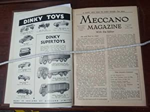 Meccano Magazine 12 volumes January 1948-December 19148.