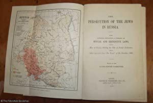 The Persecution of the Jews in Russia.: Russo-Jewish Committee