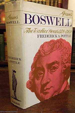 James Boswell The Earlier Years 1740-1769
