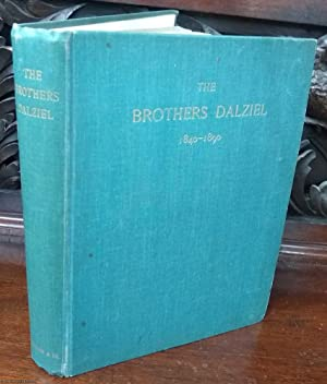 The Brothers Dalziel. A Record. 1840-1890 (Signed Presentation copy with ephemera)