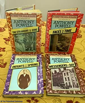 To Keep The Ball Rolling. The Memoirs of Anthony Powell 4 Vols. (Vol.1