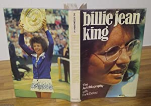 The Autobiography of Billie Jean King (with autographed card)