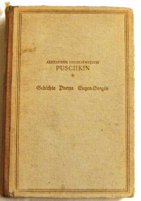 gedichte poeme von puschkin zvab