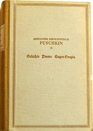 gedichte de alexander puschkin abebooks