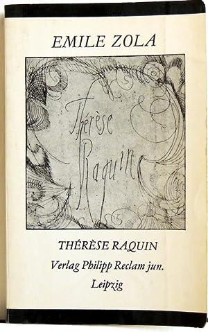 Thérèse Raquin: Zola, Emile