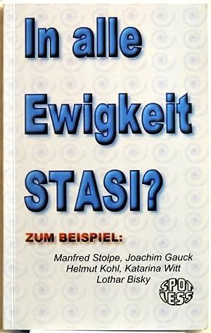 In alle Ewigkeit Stasi? zum Beispiel: Manfred: Dorlach, Sven