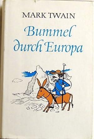 Bummel durch Europa;: Twain, Mark