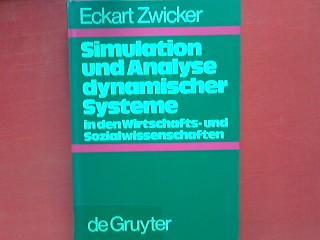 Simulation Und Analyse Dynamischer Systeme In Den Wirtschafts Und