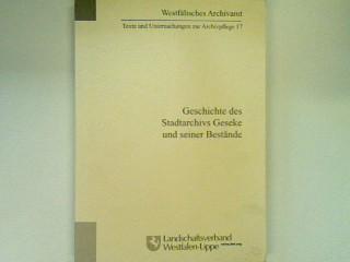 9783936258035 - Richter, Evelyn: Geschichte des Stadtarchives Geseke und seiner Bestände - Книга