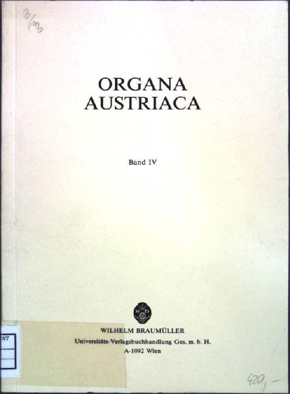 Österreichische Orgelbauer in Polen; in: Organa Austriaca, Band 4; Publikationen des Institzts...