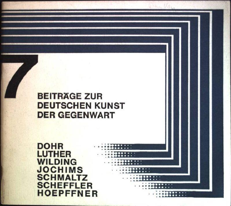 7 Beiträge zur deutschen Kunst der Gegenwart: Karl-Ernst-Osthaus-Museum Hagen [Hrsg.]: