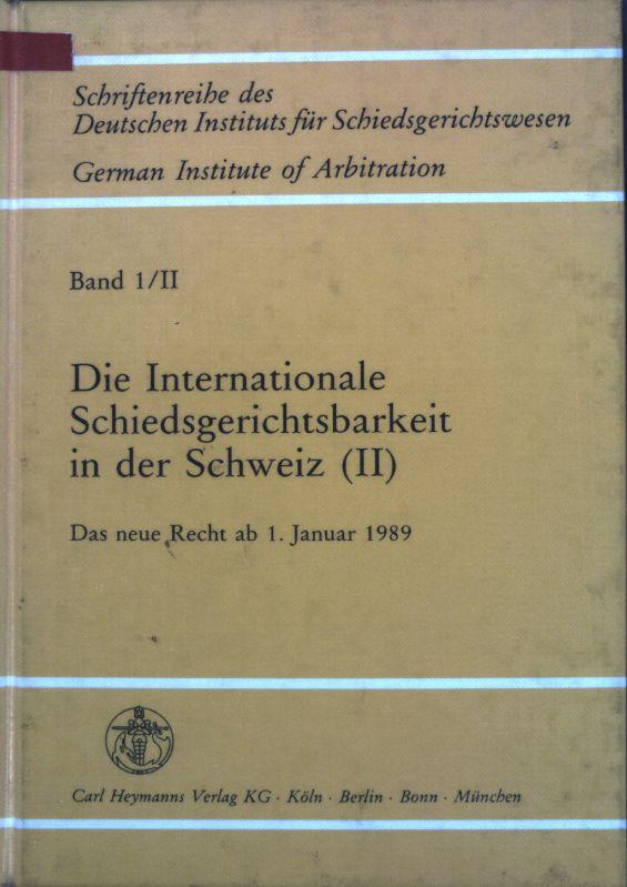 internationale schiedsgerichtsbarkeit in - ZVAB