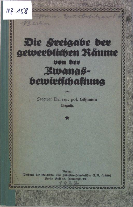 lehmann bibliotheken - ZVAB