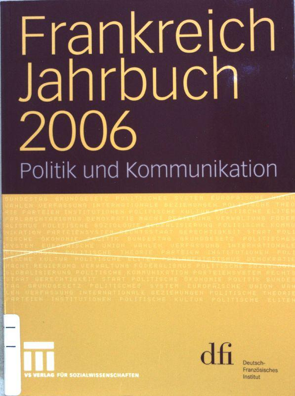 Jahrbuch für europäische Verwaltungsgeschichte 18 (2006)