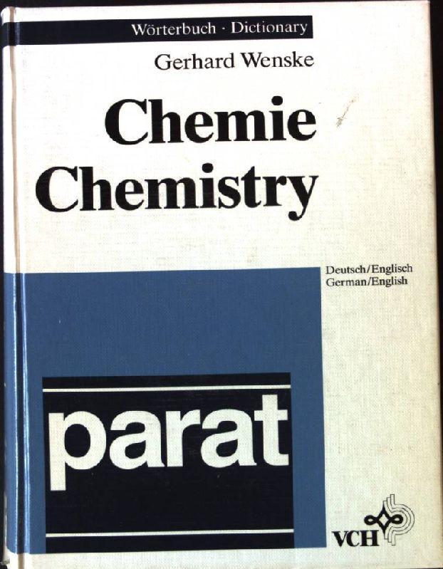 woerterbuch chemie dictionary chemistry von wenske zvab. Black Bedroom Furniture Sets. Home Design Ideas