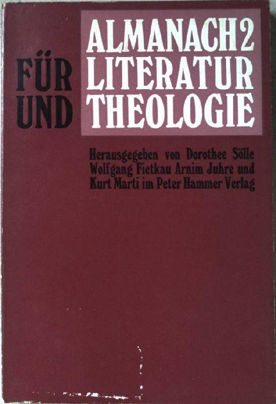 Almanach 2 Für Literatur Und Theologie Ua