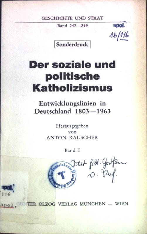 Nationalsozialismus; Sonderdruck aus: Der soziale und politische: Volk, Ludwig: