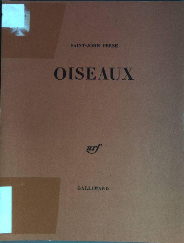Oiseaux: Perse, Saint-John:
