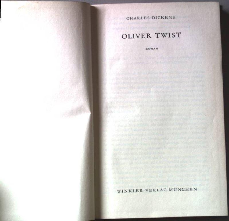 Oliver Twist.: Dickens, Charles: