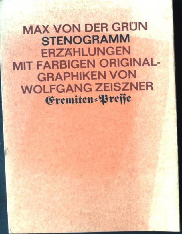 Stenogramm : Erzählungen.