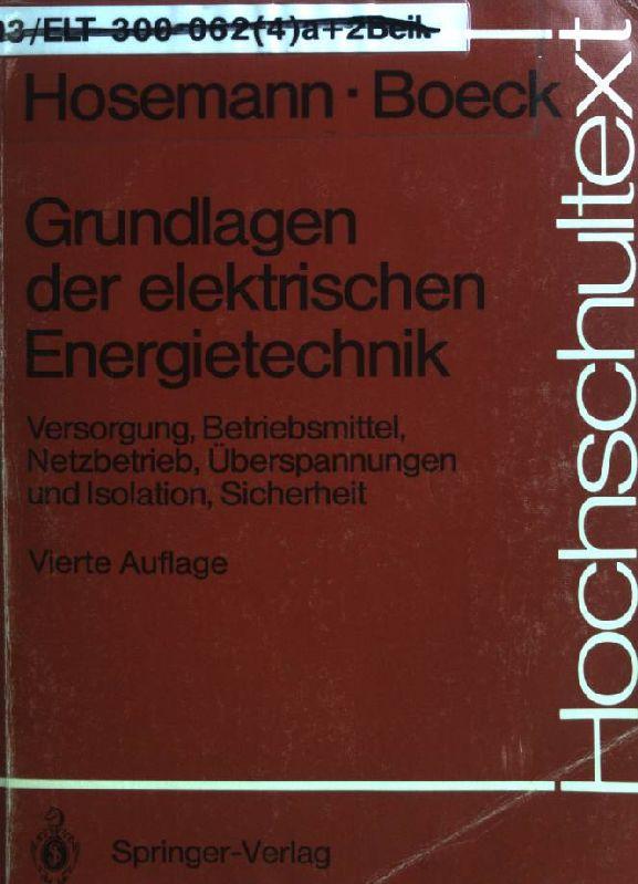 hosemann elektrische energietechnik - ZVAB
