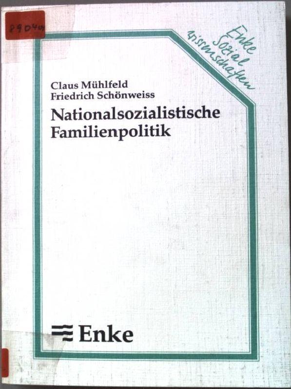 3432980019 Nationalsozialistische Familienpolitik