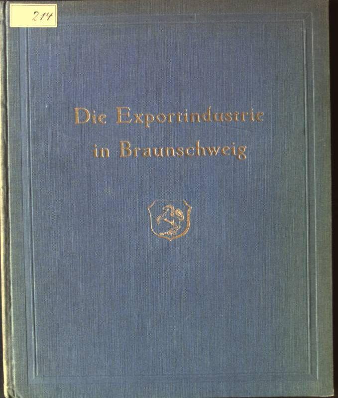 Die Exportindustrie in Braunschweig: Thoms und R.V.
