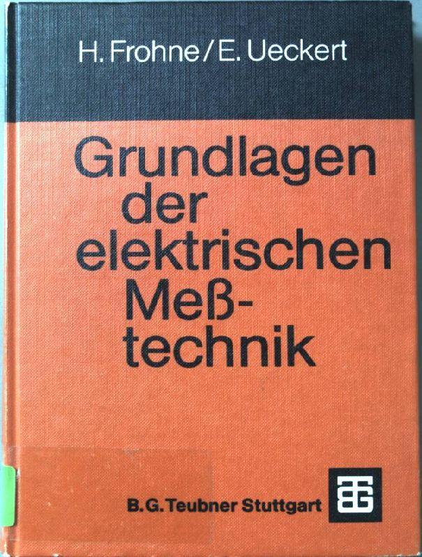 grundlagen der elektrotechnik von frohne - ZVAB
