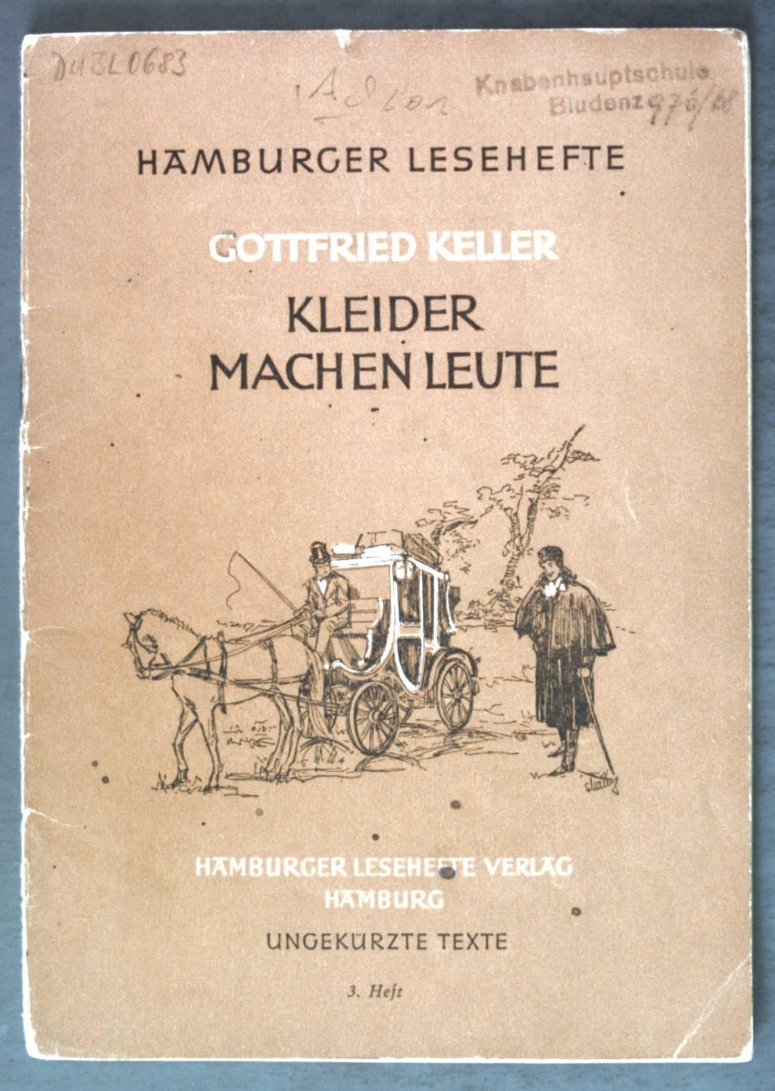 Kleider Machen Leute Hamburger Zvab