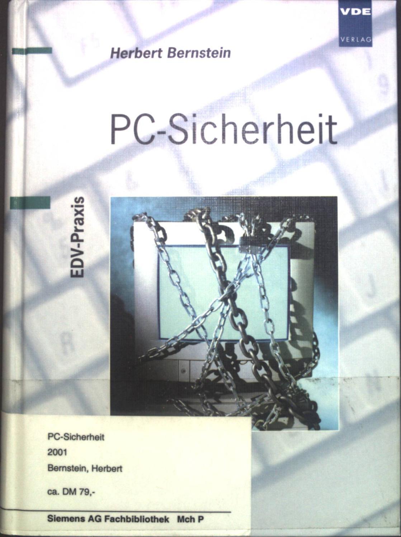 PC-Sicherheit. - Bernstein, Herbert