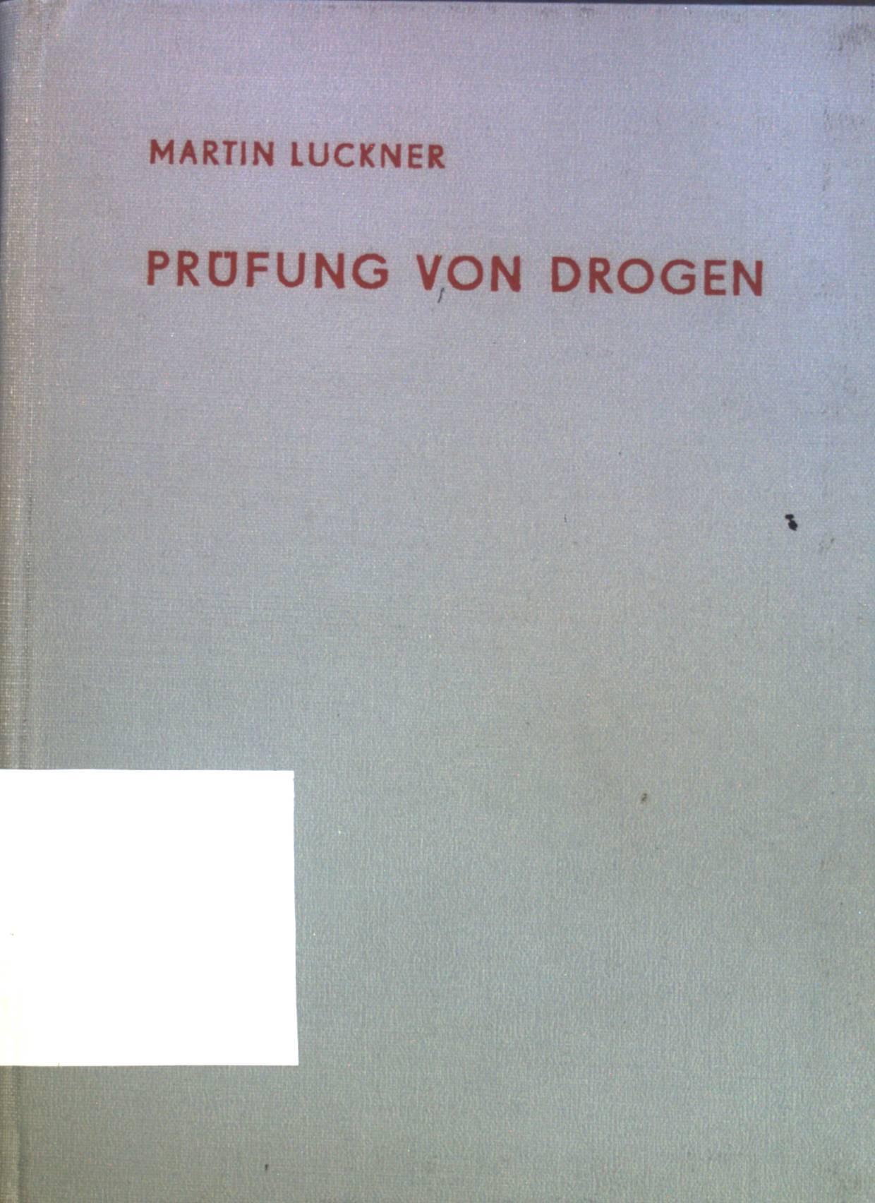 Vorschriften für die chemische, physikalische und biologische: Luckner, Martin: