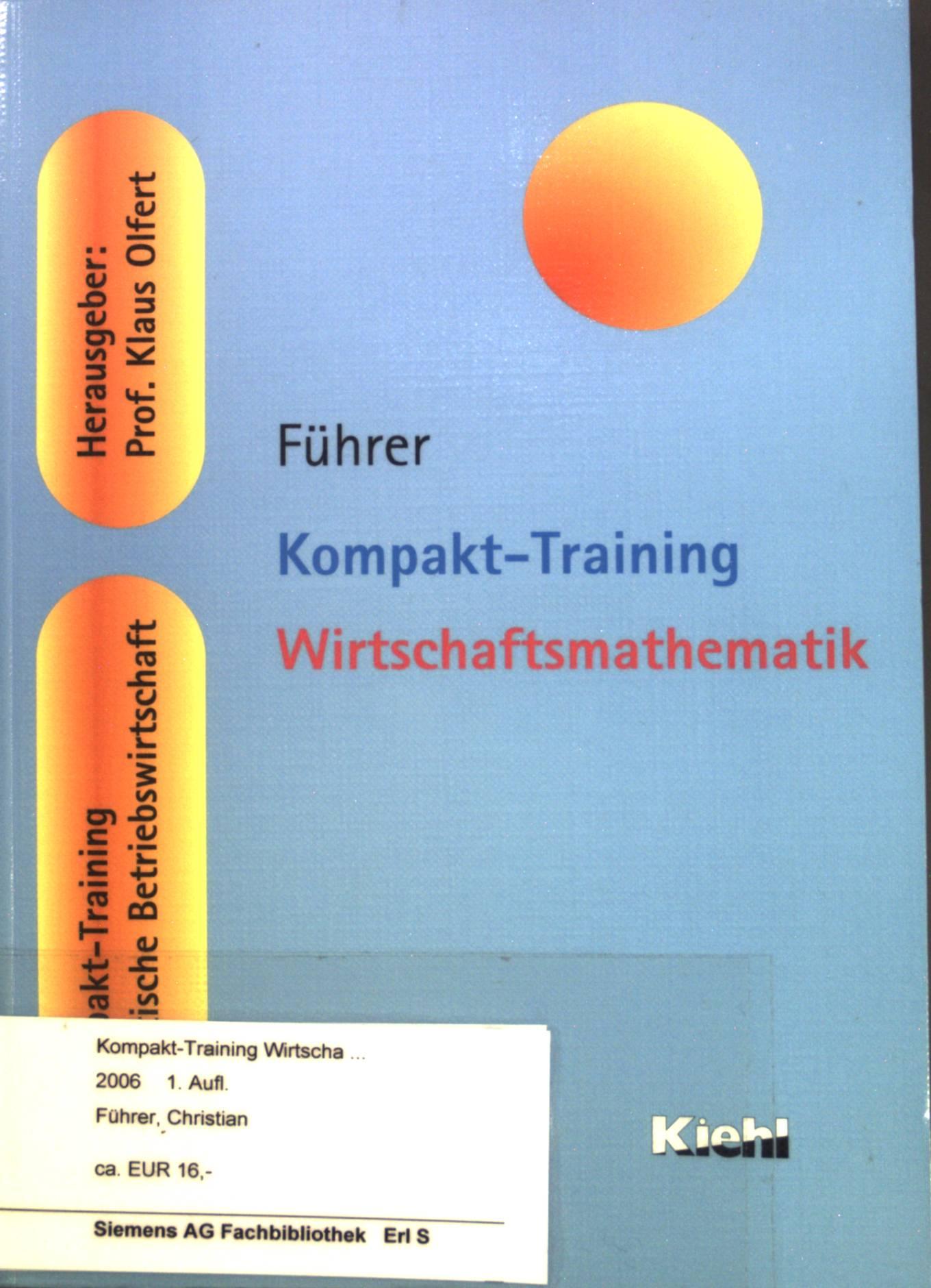 kompakttraining bilanzen kompakttraining praktische betriebswirtschaft