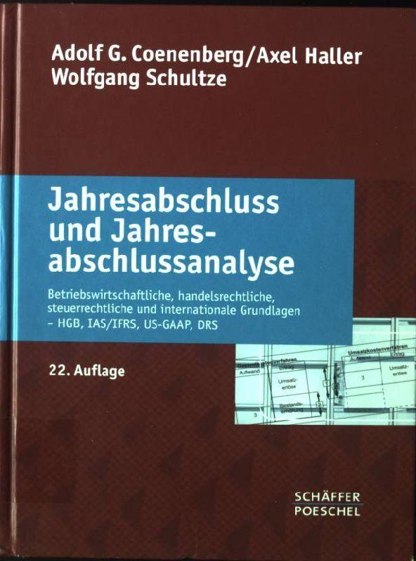 jahresabschlu und jahresabschlu analyse von coenenberg zvab. Black Bedroom Furniture Sets. Home Design Ideas