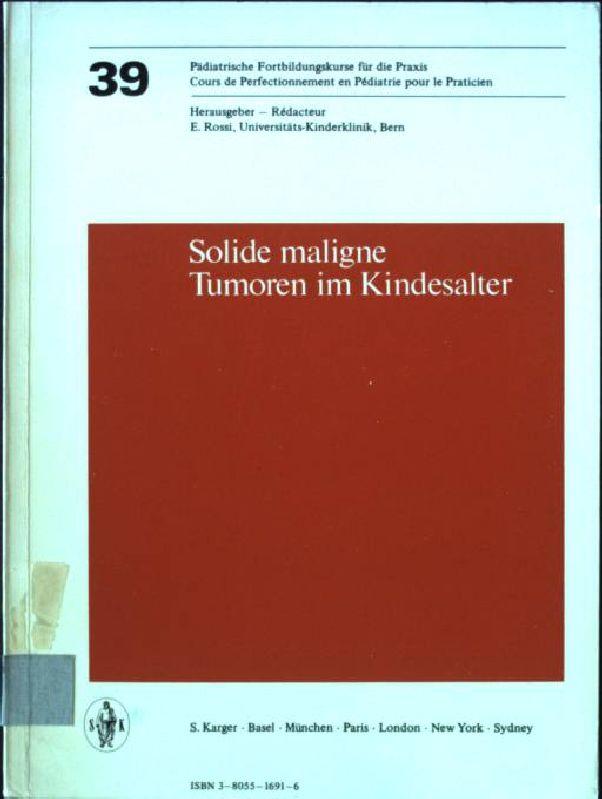 Wachstum Und Chemotherapie Maligner Tumoren Arzneimittel-forschung, Entstehung Studium & Wissen Fachbücher & Lernen