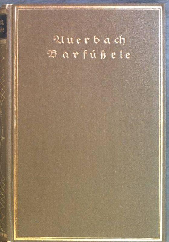 Barfüßele: Auerbach, Berthold:
