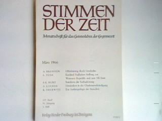 Kardinal Faulhabers Stellung zur Weimarer Republik und: Volk, Ludwig: