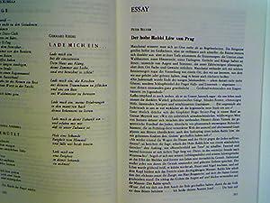 Der hohe Rabbi Löw von Prag. -: Becher, Peter und