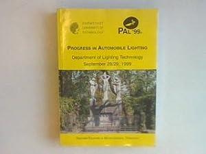 Progress in Automobile Lighting - PAL '99: Schmidt-Clausen, Hans-Joachim: