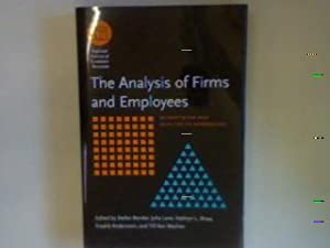 The Analysis of Firms and Employees: Quantitative: Bender, Stefan (Ed.),