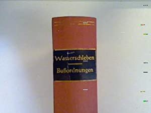 Die Bußordnungen der abendländischen Kirche: Wasserschleben, F. W. H.: