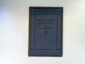 M.Tullii Ciceronis; Librorum de re Publica Sex;: Müller, C.F.W. (Hrsg.):