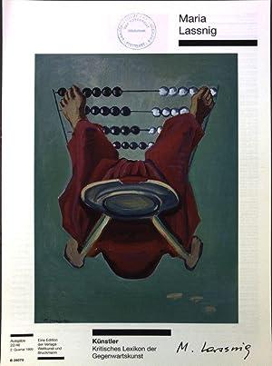 Maria Lassnig Künstler - Kritisches Lexikon der: Bergmann, Rudij: