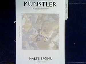Malte Spohr Künstler - Kritisches Lexikon der: Thiele, Carmela: