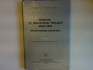 Manual of industrial project analysis in developing: OECD: