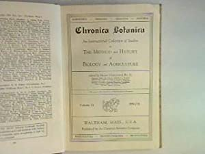 Chronica Botanica: an international collection of studies: Verdoorn, Frans (Ed.):