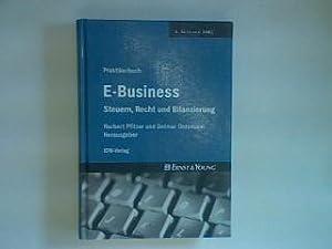 Praktikerbuch E-Business: Steuern, Recht und Bilanzierung.: Pfitzer, Norbert und Detmar [Hrsg.] ...
